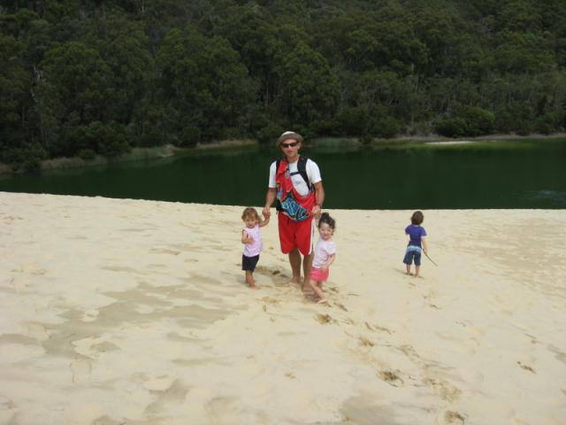 Wabby Lake, Fraser Island