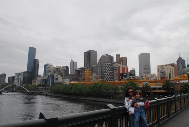 Melbourne CBD from South