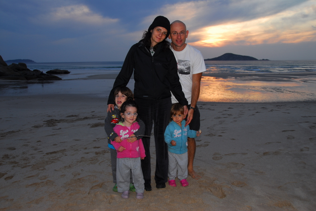 Sunset at Whiskey Beach, Wilsons Promontory National Park