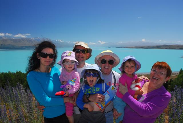 Lake Pukaki with Mt Cook in the background