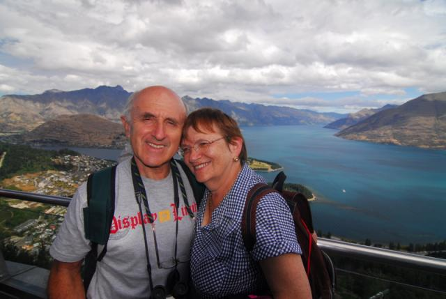 View from the Gondola, Queenstown