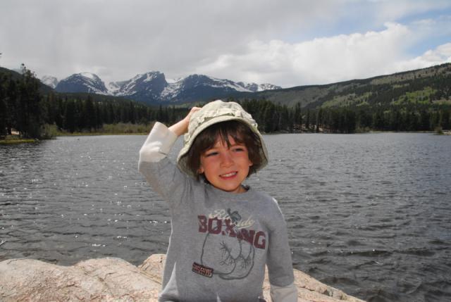 Ron at Sprague Lake