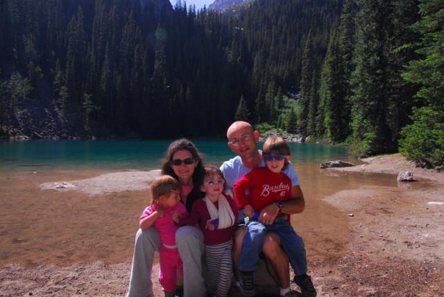 Mirror Lake Near Louise Banff National Park
