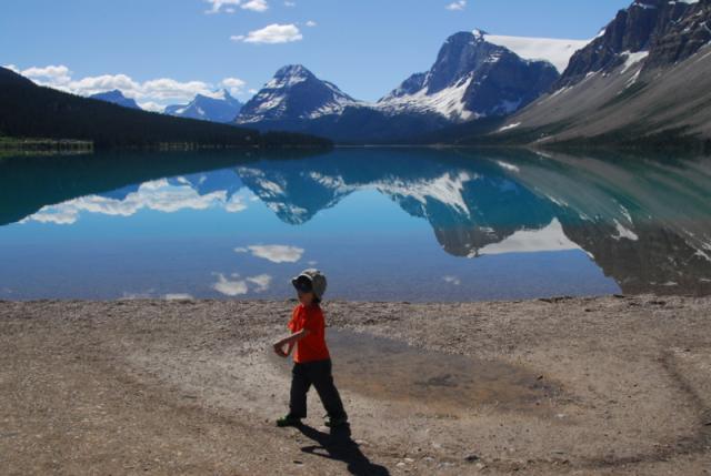 Ron at Bow Lake, Banff National Park