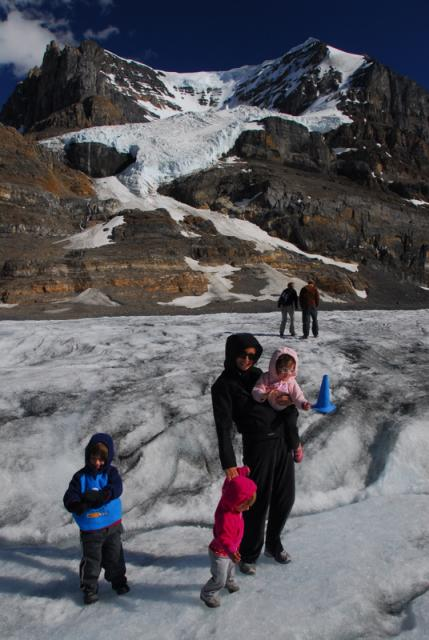 Athabasca Glacier, Icefields Parkway, Jasper National Park