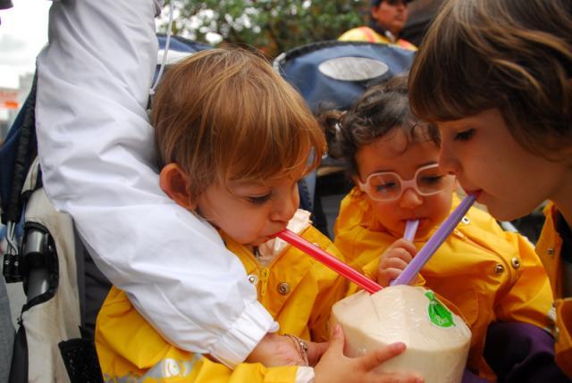 Coconut milk, Chinatown, Vancouver