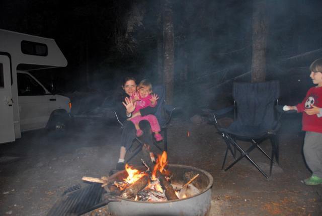 Cougar Rock Campground, Mount Rainier National Park