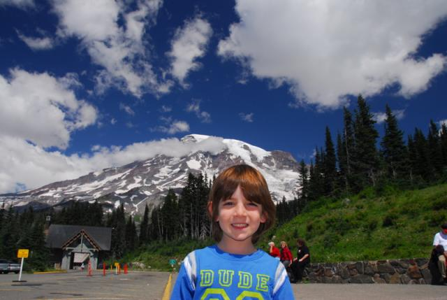 Paradise Visitors Center, Mount Rainier National Park