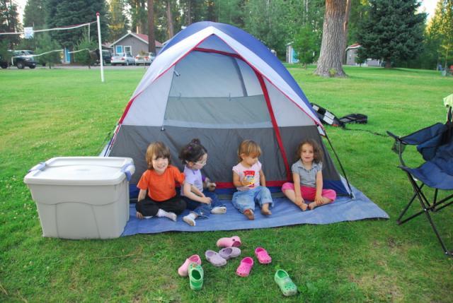 Campground Near Forth Klamath, Oregon