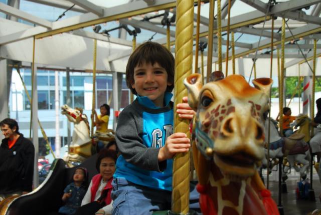 Yerba Buena Carousel, San Francisco